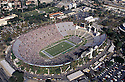 Los Angeles Memorial Coliseum aerial during a game from the 1993 season game the Kansas City Chiefs. The Giant beat the Raiders 34-17.David Durochik/SportPics