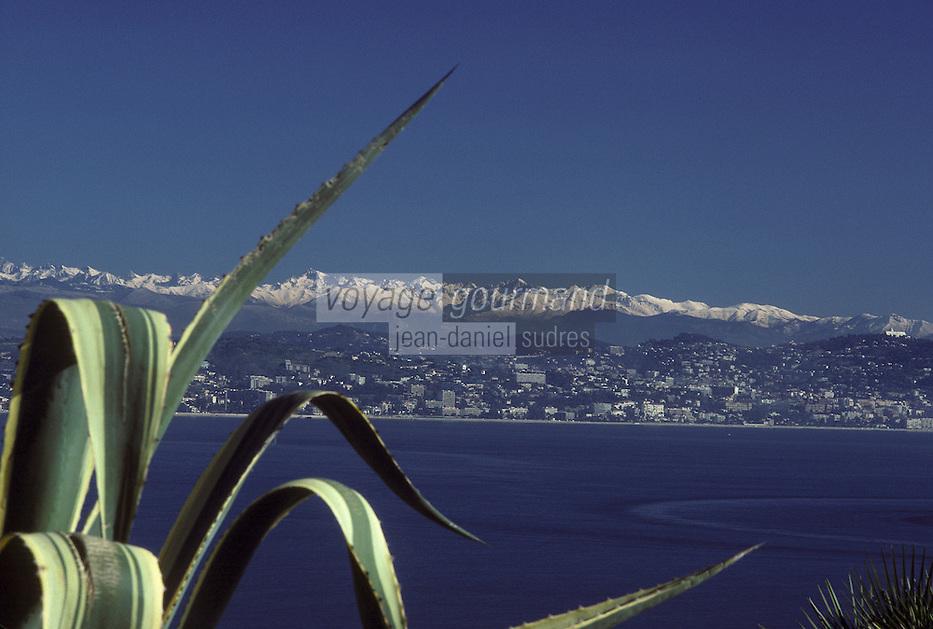 France/06/Alpes-Maritimes/Nice: Les Alpes