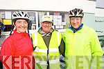 Pictured at the Fenit Coastal Cycle on Saturday were l-r: Mary Dillane (Abbeydorney) Jim McCarthy Tommy Sheehy (Knockanish) .