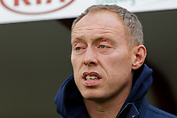Swansea City manager Steve Cooper stands in the technical area prior to the Sky Bet Championship match between Barnsley and Swansea City at Oakwell Stadium, Barnsley, England, UK. Saturday 19 October 2019