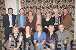 CHRISTMAS BREAK: Staff from Castlegregory secondary school dined in the Fels Point hotel, Dan Spring Road, Tralee, last Friday evening for their annual Christmas party. Seated l-r: Gemma Donovan, Kathleen Kerin, Edel O'Connor, Sheila O'Donnell and John O'Callaghan. Back l-r: Sean Pol O'Cinneide, Michael Commane, Colleen Dowling, Kieran Begley (School Principal) Aileen Nicgearailt, Nora Flynn and Mark Burgess.   Copyright Kerry's Eye 2008
