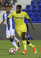 Villarreal's Alfred N'Diaye during the XXXVII trophy of Legane's City between CD Leganes and Villarreal CF at Butarque Stadium. August 13, 2016. (ALTERPHOTOS/Rodrigo Jimenez) /NORTEPHOTO