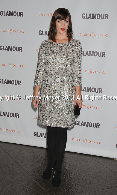 LOS ANGELES, CA - OCTOBER 24: Sarah Burns attends the Glamour Reel Moments at DGA Theater on October 24, 2011 in Los Angeles, California.