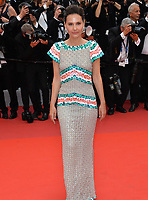"""CANNES, FRANCE. May 14, 2019: Virginie Ledoyen  at the gala premiere for """"The Dead Don't Die"""" at the Festival de Cannes.<br /> Picture: Paul Smith / Featureflash"""