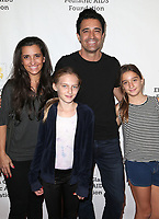 29 October 2017 - Culver City, California - Carole Marini, Gilles Marini, Juliana Marini. Elizabeth Glaser Pediatric AIDS Foundation's 28th Annual 'A Time For Heroes' Family Festival helming at Smashbox Studios. Photo Credit: F. Sadou/AdMedia
