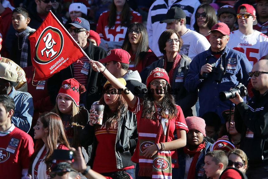Fan der San Francisco 49ers