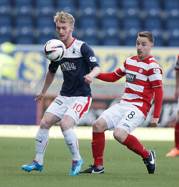 Craig Sibbald and Jon Routledge