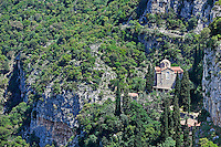 St. John Prodromos Monastery near Dimitsana in Arcadia, Peloponnese, Greece.