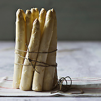 Europe/France/Aquitaine/40/Landes: Asperges des sables des Landes, IGP Indication Géographique Protégée //  France, Landes, asparagus sands of the Landes, PGI Protected Geographical Indication,