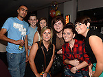 Megan Wallace celebrating her 21st birthday in Brú with friends. Photo:Colin Bell/pressphotos.ie