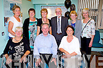 40TH ANNIVERSARY: The original staff of the KGH pathology laboratories at the 40th anniversary celebrations at the Kerry General Hospital on Tuesday seated l-r: Delores Stack, Tom O'Loughlin and Delia Foley. Back l-r: Catherine Collins, Kathleen Dineen, Colette McGuire, Paddy Prendergast, Sheila Twomey and Mary Kelliher.