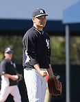 Masahiro Tanaka (Yankees),<br /> FEBRUARY 16, 2014 - MLB :<br /> New York Yankees spring training camp in Tampa, Florida, United States. (Photo by AFLO)