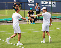 Den Bosch, Netherlands, 07 June, 2016, Tennis, Ricoh Open, Mens Doubles : Wesley Koolhof (R) and Matwe Middelkoop (NED) <br /> Photo: Henk Koster/tennisimages.com