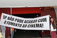 SÃO PAULO,SP, 21.10.2015 - FESTIVAL-CINEMA - Protesto durante abertura da 39ª mostra internacional de cinema de São Paulo, na região sul da capital paulista nesta quarta-feira, 21. (Foto: Marcos Moraes/Brazil Photo Press)