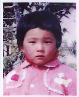 Tao Shanmin, born in March 1989. Missing on their way to her grandmother's home in Guandian County, Mingguan Ciy of Anhui Province on April 1993.  Girls in China are increasingly targeted and stolen as there is a shortage of wives as the gender imbalance widens with 120 boys for every 100 girls..PHOTO BY SINOPIX