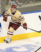 Barry Almeida (BC - 9) - The Boston College Eagles defeated the Air Force Academy Falcons 2-0 in their NCAA Northeast Regional semi-final matchup on Saturday, March 24, 2012, at the DCU Center in Worcester, Massachusetts.