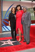 LOS ANGELES - JAN 28:  Bernice Henson, Taraji P Henson,  Patsy Ballard at the Taraji P. Henson Star Ceremony on the Hollywood Walk of Fame on January 28, 2019 in Los Angeles, CA