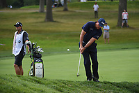 Phil Mickelson (USA) chips on to 7 during Rd3 of the 2019 BMW Championship, Medinah Golf Club, Chicago, Illinois, USA. 8/17/2019.<br /> Picture Ken Murray / Golffile.ie<br /> <br /> All photo usage must carry mandatory copyright credit (© Golffile   Ken Murray)
