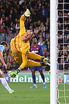 UEFA Champions League 2019/2020.<br /> Matchday 4.<br /> FC Barcelona vs SK Slavia Praha: 0-0.<br /> Marc-Andre Ter Stegen.