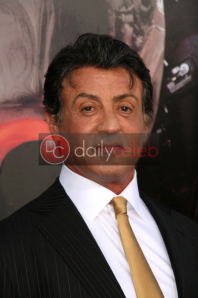 """Sylvester Stallone<br /> at the """"The Expendables"""" Film Screening, Chinese Theater, Hollywood, CA. 08--03-10<br /> David Edwards/Dailyceleb.com 818-249-4998"""