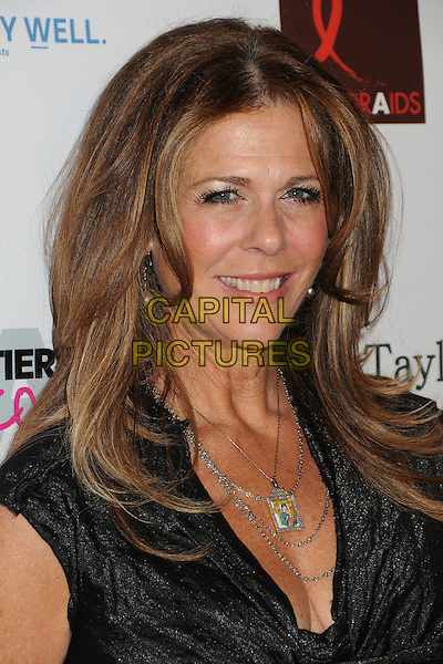Rita Wilson.9th Annual 'Best in Drag Show' benefiting AID For AIDS held at the Orpheum Theatre, Los Angeles, California USA..9th October 2011.headshot portrait black silver necklaces .CAP/ADM/BP.©Byron Purvis/AdMedia/Capital Pictures.