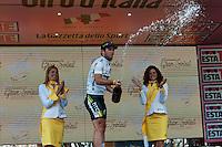 TERAMO: ARRIVO DI TAPPA DEL GIRO D'ITALIA. NELLA FOTO MARK KAVENDISH SUL PODIO. FOTO DI LORETO ADAMO