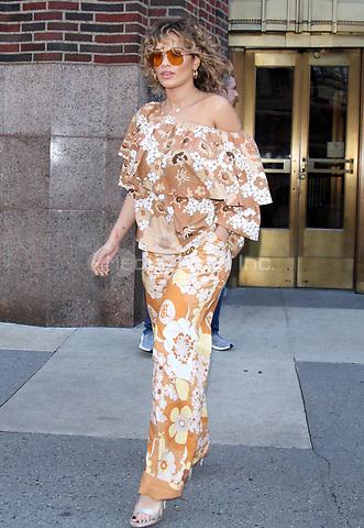 NEW YORK, NY - JULY 17: Rita Ora seen exiting Z100 studios in New York City on July 17, 2017. Credit: RW/MediaPunch