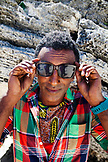 BERMUDA. Chef Marcus Samuelsson at the Princess Beach Club. Sheltered on Sinky Bay, a private cove on South Beaches exclusive to the guests of the Hamilton Princess & Beach Club Hotel.