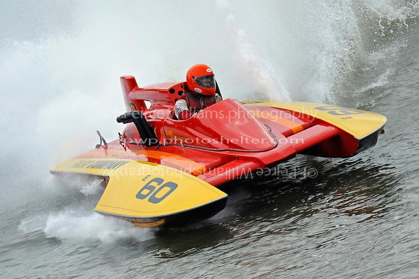 "Matt Morsheimer, E-60 ""Fast Company"" (1986 Ed Karelson 280 class cabover hydroplane)"