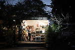 CHIANG MAI, THAILAND JAN 2014:<br /> Gallery SeeScape Tucked &nbsp;behind a fairytale-like, ivy-covered facade, this gallery-design shop-lounge is a hub for the city&rsquo;s young creatives. Catch exhibitions, live performances and screenings by up-and-coming local artists or pick up unusual, handmade notebooks, key chains and figurines. Nimmanhaemin Rd./Soi 17<br /> @Giulio Di Sturco