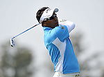 SUZHOU, CHINA - APRIL 16:  Thongchai Jaidee of Thailand plays his second shot on the 1st hole during the Round Two of the Volvo China Open on April 16, 2010 in Suzhou, China. Photo by Victor Fraile / The Power of Sport Images