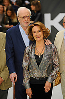 LONDON, ENGLAND - SEPTEMBER 12: Michael Caine and Francesca Annis attending the World Premiere of 'King Of Thieves' at Vue West End, Leicester Square on September 12, 2018 in London, England.<br /> CAP/MAR<br /> &copy;MAR/Capital Pictures