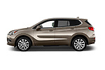 Car Driver side profile view of a 2016 Buick Envision Premium-II-AWD 5 Door SUV Side View