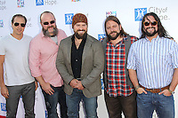 Zac Brown and The Zac Brown band at the 2012 City of Hope Gala honoring Bob Pittman with the Spirit of Life Award at The Geffen Contemporary at MOCA. Los Angeles, California. JUne 12, 2012.  © mpi28/MediaPunch Inc. NORTEPHOTO.COM<br />