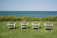 fouor chairs, East Chop, Marthas Vineyard, MA