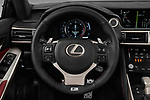 Car pictures of steering wheel view of a 2017 Lexus IS 350 4 Door Sedan Steering Wheel