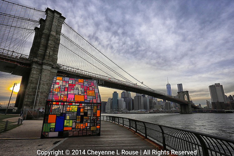 Art on the East River - New York City - Brooklyn