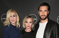 WEST HOLLYWOOD, CA - JANUARY 9: Judith Light, Christina Ricci, Josh Bowman, at the Lifetime Winter Movies Mixer at Studio 4 at The Andaz Hotel in West Hollywood, California on January 9, 2019. Credit:Faye Sadou/MediaPunch
