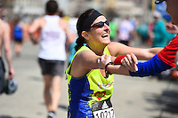 2016 Boston Marathon Dana Farber Mile 25