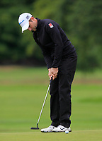 Marcel Schneider (GER) on the 10th green during Round 2 of the Bridgestone Challenge 2017 at the Luton Hoo Hotel Golf &amp; Spa, Luton, Bedfordshire, England. 08/09/2017<br /> Picture: Golffile | Thos Caffrey<br /> <br /> <br /> All photo usage must carry mandatory copyright credit     (&copy; Golffile | Thos Caffrey)