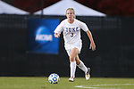 10 November 2012: Duke's Libby Jandl. The Duke University Blue Devils played the Loyola University Maryland Greyhounds at Koskinen Stadium in Durham, North Carolina in a 2012 NCAA Division I Women's Soccer Tournament First Round game. Duke won the game 6-0.