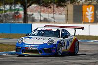 2017 Porsche GT3 Cup USA<br /> Sebring International Raceway, Sebring, FL USA<br /> Friday 17 March 2017<br /> 56, David Baker, GT3P, USA, M, 2017 Porsche 991<br /> World Copyright: Jake Galstad/LAT Images<br /> ref: Digital Image lat-galstad-SIR-0317-14851