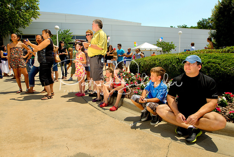 Photography of Electrolux family day activities at the Electrolux headquarters in Charlotte, North Carolina...