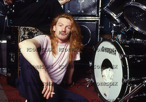 ITBITES - drummer Bob Dalton - Photosession in London UK - August 1986.  Photo credit: George Bodnar Archive/IconicPix
