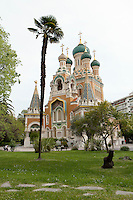 Russian Orthodox Cathedral, Nice, France, 28 April 2012