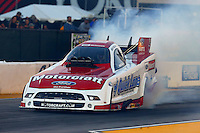 Jul. 26, 2013; Sonoma, CA, USA: NHRA funny car driver Bob Tasca III during qualifying for the Sonoma Nationals at Sonoma Raceway. Mandatory Credit: Mark J. Rebilas-