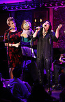 Jennifer Barnhart and Erin Quill during the 'Avenue Q' 15th Anniversary Reunion Concert at Feinstein's/54 Below on July 30, 2018 in New York City.