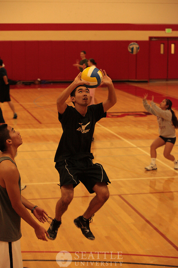 2012 Indoor Intramural Volleyball