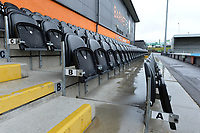 Rain today The Hive Barnet FC  during Barnet vs Woking, Vanarama National League Football at the Hive Stadium on 12th October 2019