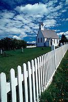 Kings Landing Historical Settlement, St. Mark's Chapel, New Brunswick, Canada